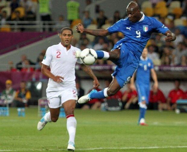 Balotelli durante un partido