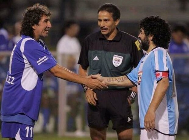 Mágico con Maradona