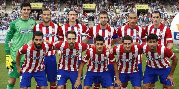 jugadores de el atletico de madrid: