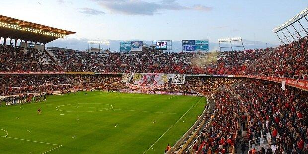 El estadio Ramón Sánchez-Pizjuán de Sevilla