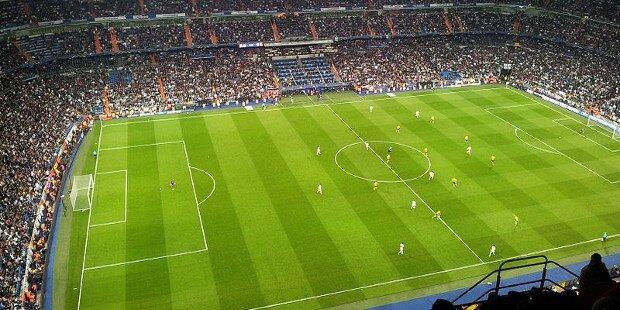 Estadio español en competición europea