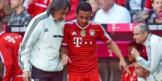Guardiola, ¿culpable de la lesión de Thiago?