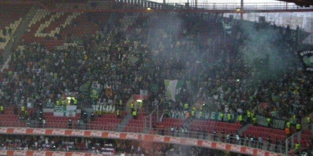 Hinchada del Sporting de Lisboa