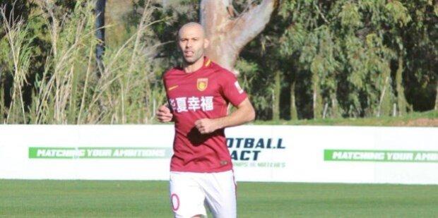 Javier Mascherano en el fútbol chino