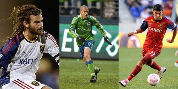 Máximos pasadores de la MLS 2013