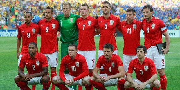 Mundial 2014: Inglaterra, la eterna decepción