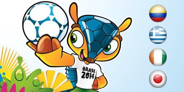 Mundial Brasil 2014: Grupo C
