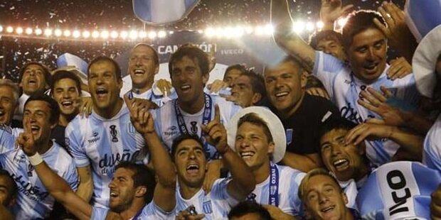 Racing de Avellaneda campeón de Argentina