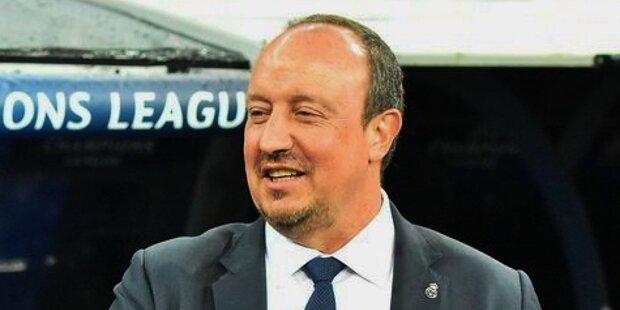 Rafa Benítez, entrenador de fútbol