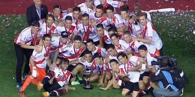 River Plate campeón e la Copa Sudamericana