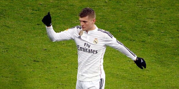 Toni Kroos jugador del Real Madrid
