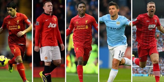 Top-5 atacantes Premier League 2013-2014