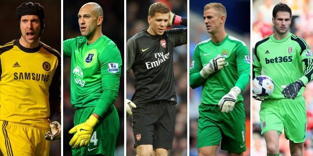 Top-5 porteros Premier League 2013-2014