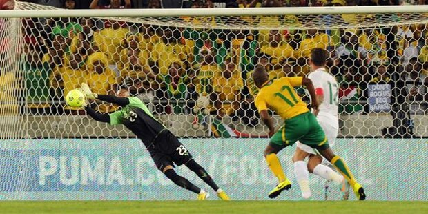 Sudáfrica-Cabo Verde: 0-0