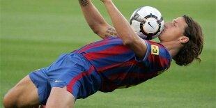 Ibrahimovic, el jugador que le dio una liga al Barça