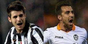 Alcacer vs Morata: ¿Quién es el mejor delantero joven?