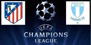 Atlético de Madrid - Malmö - Champions League 2014-2015 - Jornada 3