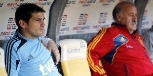 Del Bosque y Aragonés; Casillas y Raúl