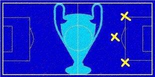 Los 5 mejores centrocampistas ofensivos Champions League 2014-2015