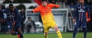 Messi lesionado frente al PSG