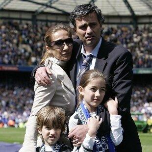 Mourinho y su Familia