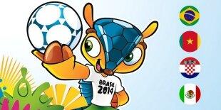 Mundial Brasil 2014: Grupo A