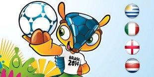 Mundial Brasil 2014: Grupo D