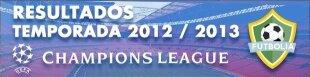 Resultados Champions League 2012-13: Semifinales