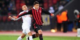 Thiago Silva salva el Milán