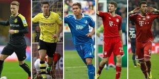 Top-5 atacantes Bundesliga 2013-2014