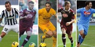 Top-5 atacantes Serie A 2013-2014