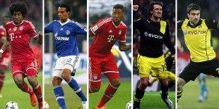 Top-5 centrales Bundesliga 2013-2014
