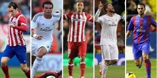 Top-5 centrales Liga BBVA 2013-2014
