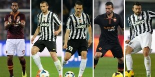Top-5 centrales Serie A 2013-2014