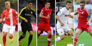 Top-5 centrocampistas defensivos Bundesliga 2013-2014