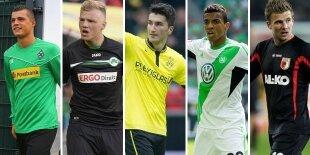Top-5 centrocampistas defensivos Bundesliga (Primera vuelta)
