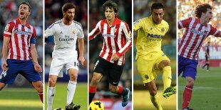 Top-5 centrocampistas defensivos Liga BBVA 2013-2014