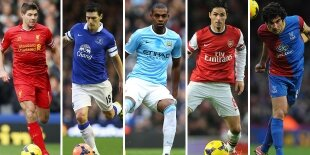 Top-5 centrocampistas defensivos Premier League 2013-2014