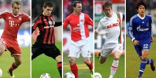 Top-5 laterales derechos Bundesliga 2013-2014