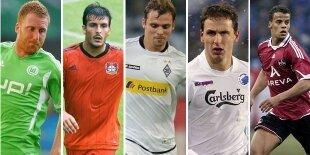 Top-5 laterales derechos Bundesliga (Primera vuelta)