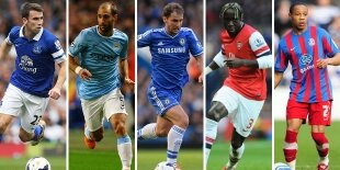 Top-5 laterales derechos Premier League 2013-2014
