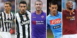 Top-5 laterales derechos Serie A (Primera vuelta)