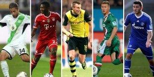 Top-5 laterales izquierdos Bundesliga 2013-2014