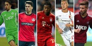 Top-5 laterales izquierdos Bundesliga (Primera vuelta)