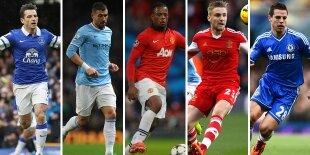 Top-5 laterales izquierdos Premier League 2013-2014