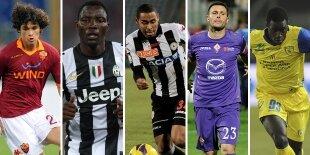 Top-5 laterales izquierdos Serie A (Primera vuelta)