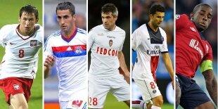 Top-5 centrocampistas defensivos liga francesa (Primera vuelta)