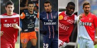 Top-5 centrocampistas ofensivos liga francesa (Primera vuelta)