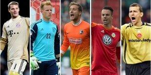 Top-5 porteros Bundesliga (Primera vuelta)