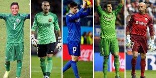 Top-5 porteros Liga BBVA 2013-2014